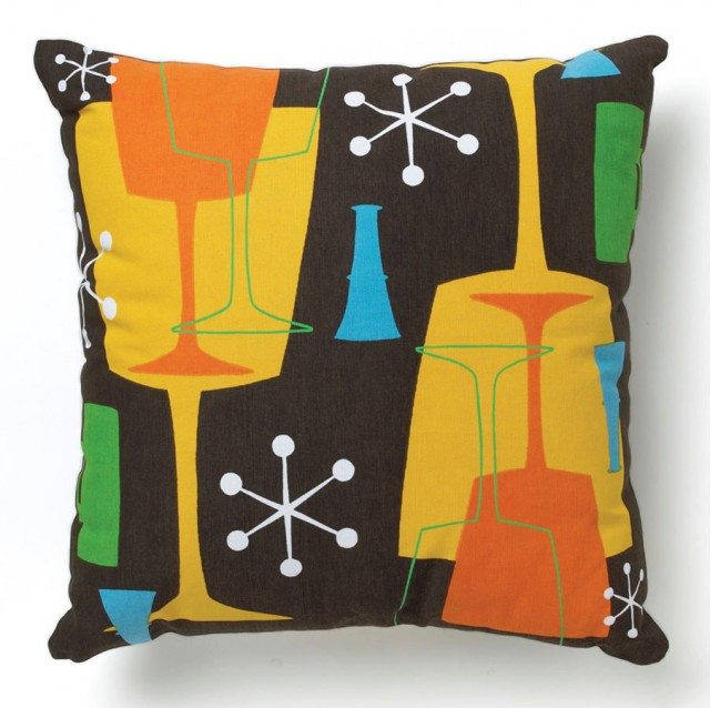 Brown Cocktail Pillow