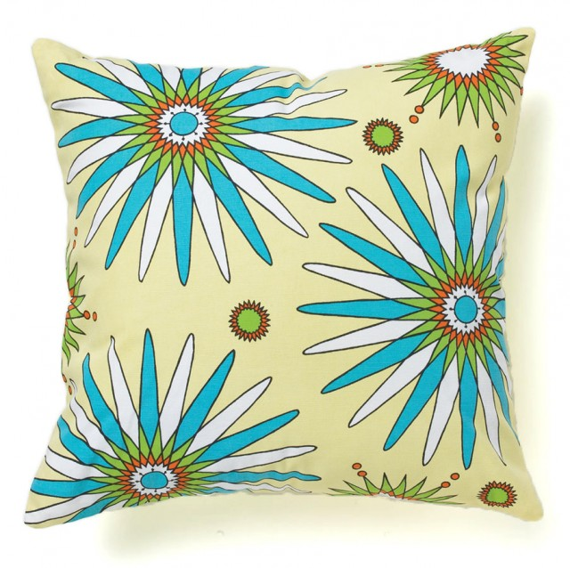 Flowerburst Spring Pillow