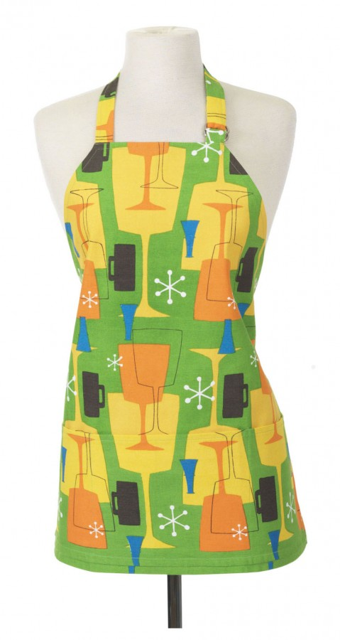 Green Cocktail Full Apron