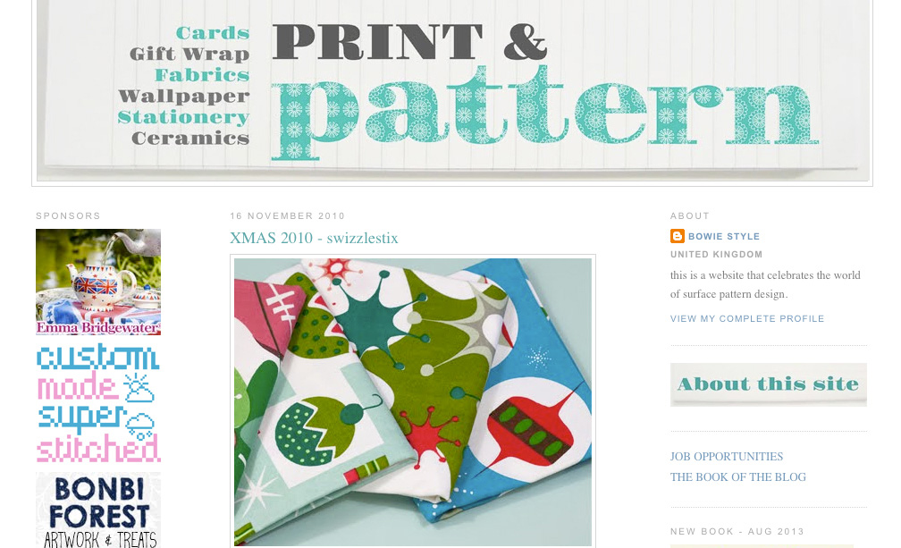 Print & Pattern feature 2