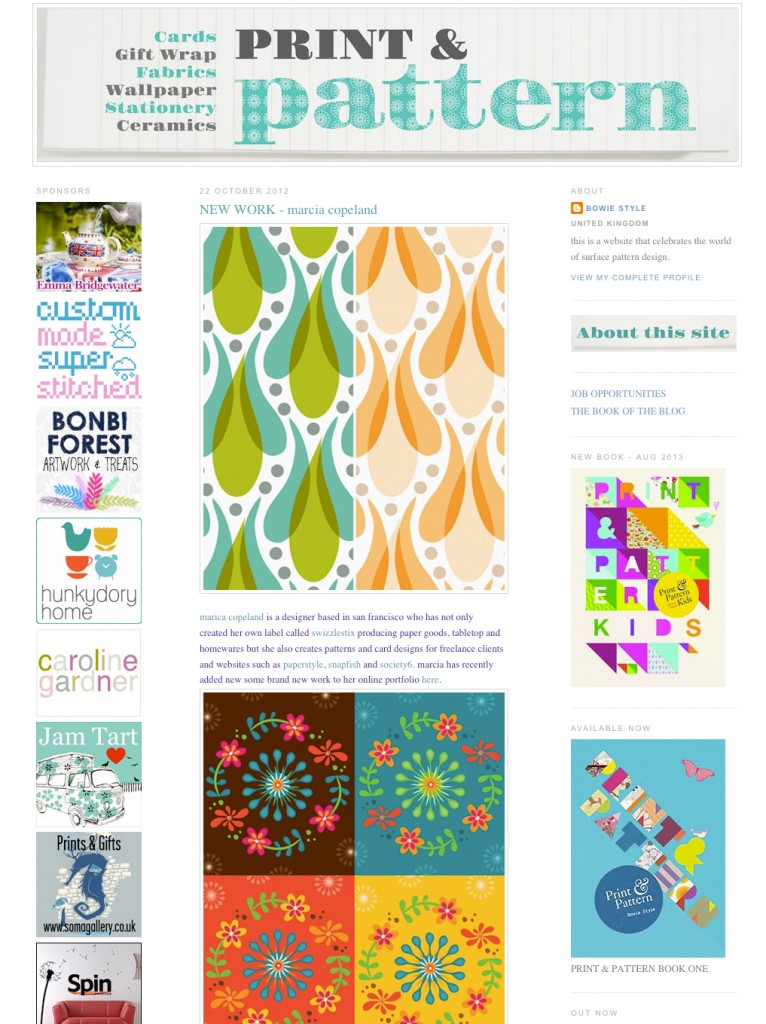 Print & Pattern feature 4