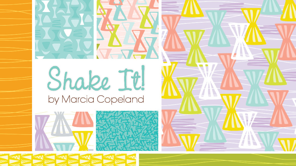 Shake It Fabric Collection